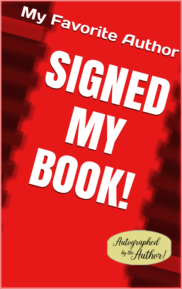 "Image for ""Autographed by the Author"" gold foil stickers - 250 count"