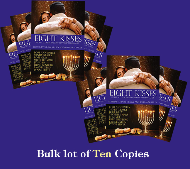 Image for Eight Kisses: Eight All-New Tales of Hanukkah Romance - 10 COPY BULK LOT