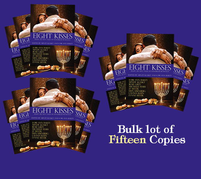 Image for Eight Kisses: Eight All-New Tales of Hanukkah Romance - 15 COPY BULK LOT
