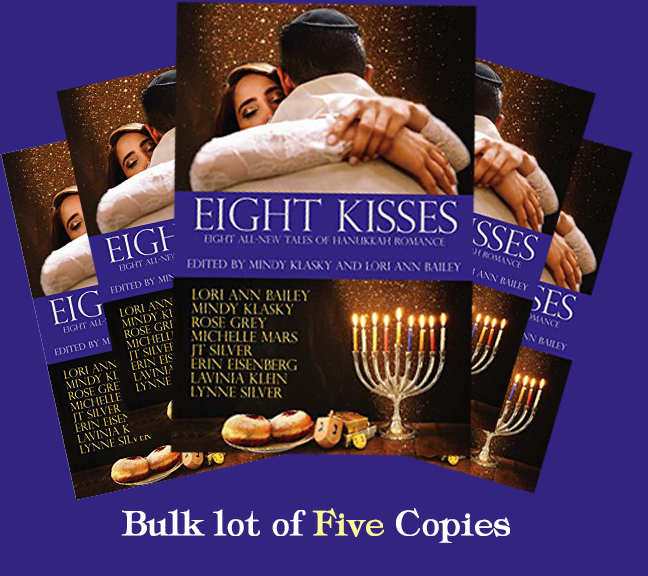 Image for Eight Kisses: Eight All-New Tales of Hanukkah Romance - 5 COPY BULK LOT