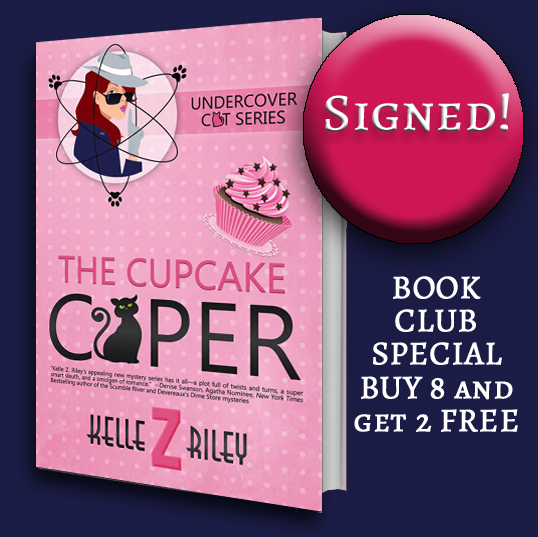 Image for THE CUPCAKE CAPER- The Book Club Offer- Buy 8--Get 2 free!