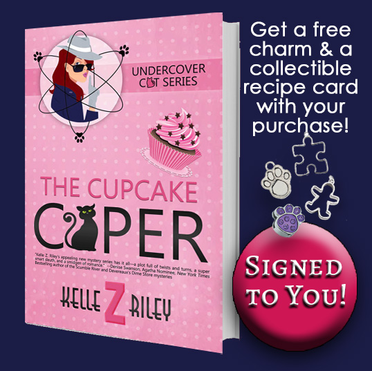 Image for THE CUPCAKE CAPER- Autographed TO YOU! (Free charm and recipe!)