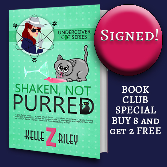 Image for SHAKEN, NOT PURRED The Book Club Offer- Buy 8--Get 2 free!