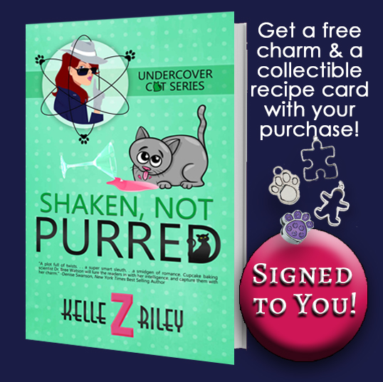 Image for SHAKEN, NOT PURRED - Autographed to you by Kelle!