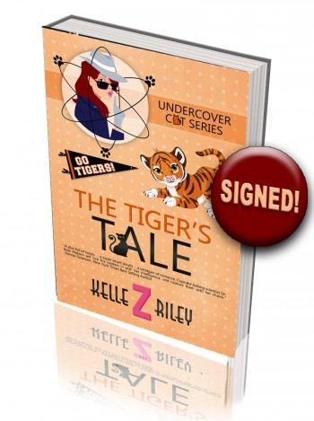 Image for THE TIGER'S TALE - (Pre-order) Autographed to you! (The Undercover Cat Series #3)