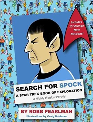 Image for Search for Spock: A Star Trek Book of Exploration: A Highly Illogical Parody