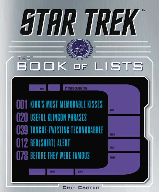 Image for Star Trek: The Book of Lists